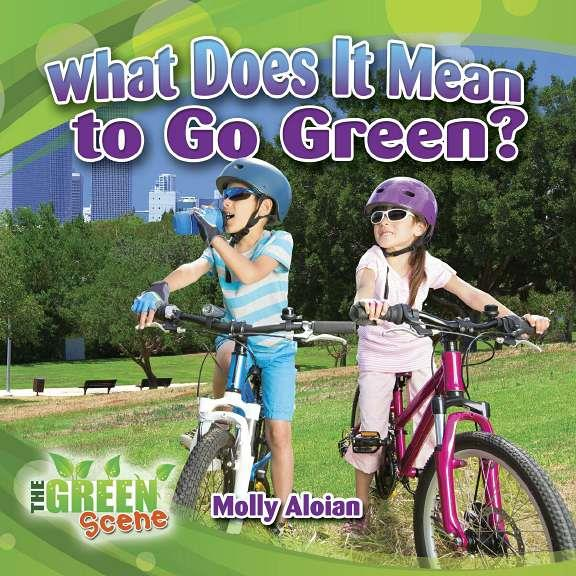 What Does it Mean to Go Green? - eBook