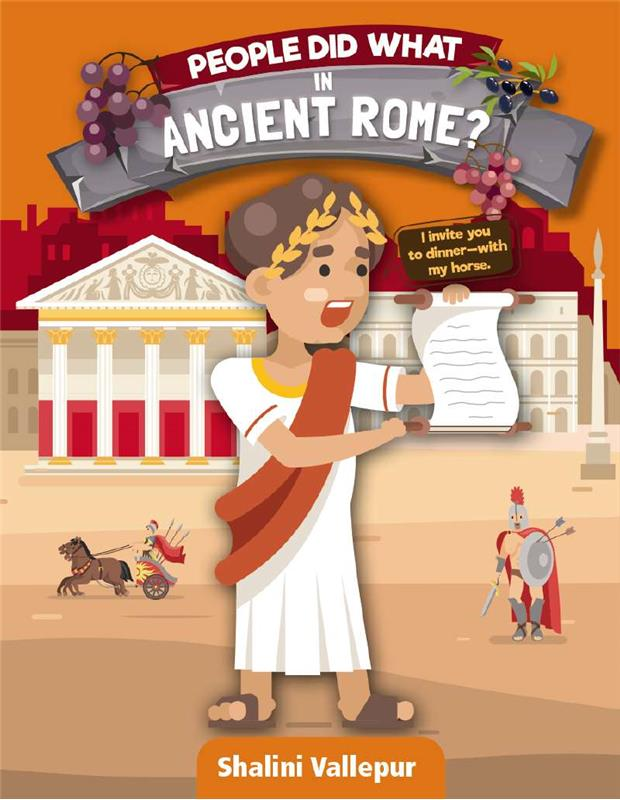 People Did What in Ancient Rome? - HC