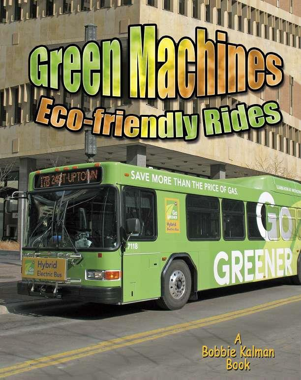 Green Machines: Eco-friendly Rides-ebook