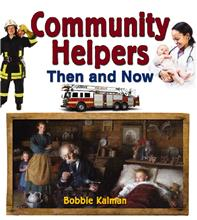 Community Helpers Then and Now - PB