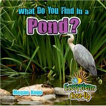 What Do You Find in a Pond? - PB