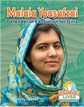 Malala Yousafzai: Defender of Education for Girls - HC