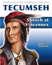 Tecumseh: Speech at Vincennes - PB