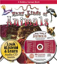 Many Kinds of Animals - CD + HC Book - Package - Mixed Media