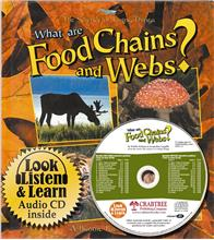 What are food chains and webs? - CD + HC Book - Package - Mixed Media