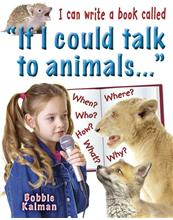 "I can write a book called ""If I could talk to animals…""-ebook"