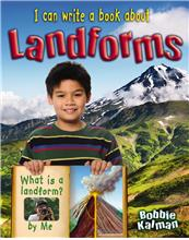 I can write a book about landforms - PB
