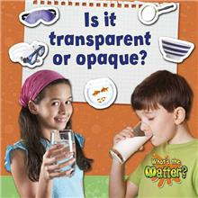 Is it transparent or opaque?-ebook