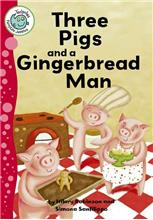 Three Pigs and a Gingerbread Man-ebook