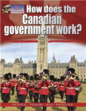 How does the Canadian government work?-ebook