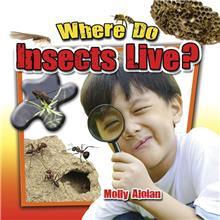 Where do insects live? - eBook