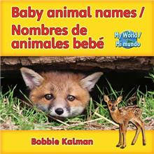 Baby Animal Names / Nombres de animales bebé - eBook