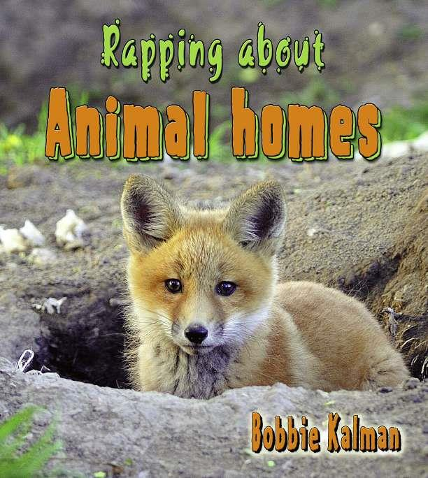 Rapping about Animal homes-ebook