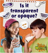 Is it transparent or opaque? - PB