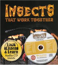Insects that Work Together - CD + HC Book - Package - Mixed Media