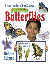 I can write a book about butterflies-ebook