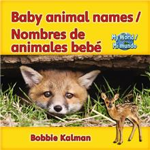 Baby Animal Names / Nombres de animales bebé - PB